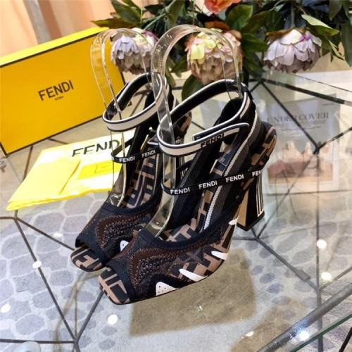 Fendi High-Heeled Shoes For Women #833978