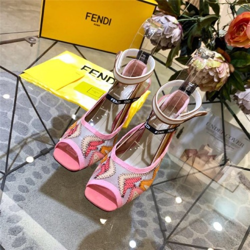 Fendi High-Heeled Shoes For Women #833981