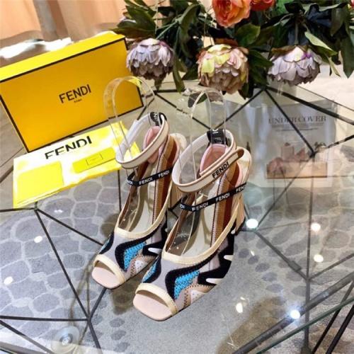 Fendi High-Heeled Shoes For Women #833982