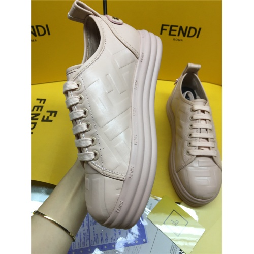 Replica Fendi Casual Shoes For Women #833993 $82.00 USD for Wholesale