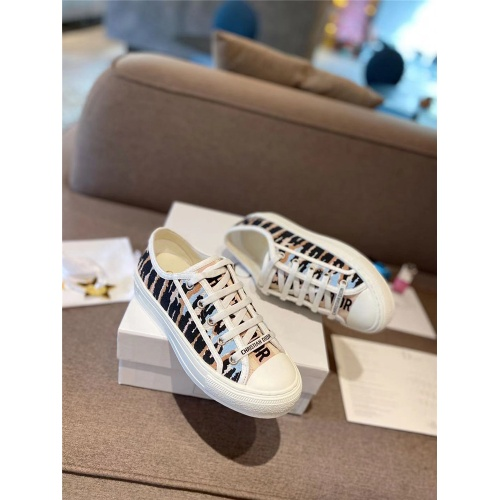 Christian Dior Casual Shoes For Women #834004 $96.00 USD, Wholesale Replica Christian Dior Casual Shoes