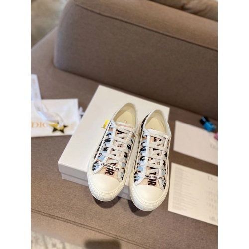 Replica Christian Dior Casual Shoes For Women #834004 $96.00 USD for Wholesale