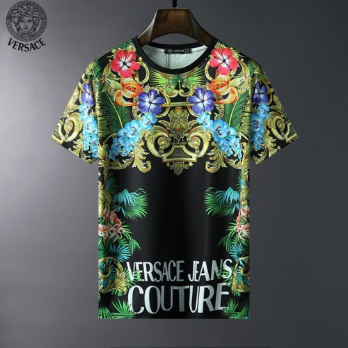 Versace T-Shirts Short Sleeved For Men #834040
