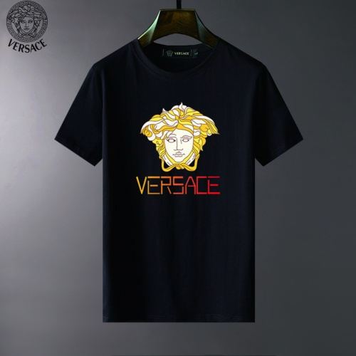 Versace T-Shirts Short Sleeved For Men #834049 $23.00, Wholesale Replica Versace T-Shirts