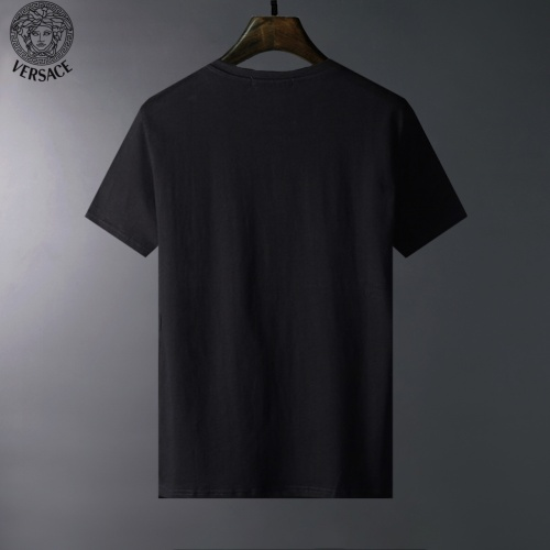 Replica Versace T-Shirts Short Sleeved For Men #834049 $23.00 USD for Wholesale