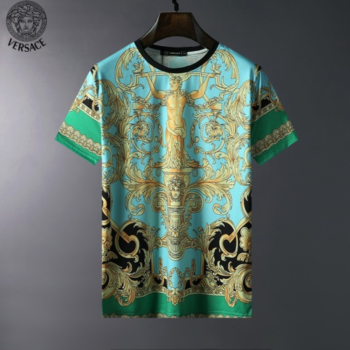 Versace T-Shirts Short Sleeved For Men #834054