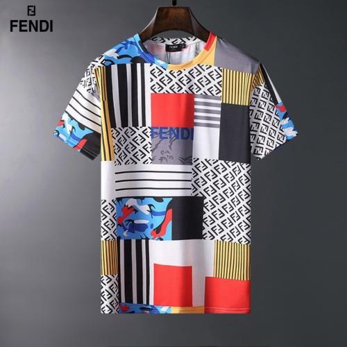 Fendi T-Shirts Short Sleeved For Men #834077