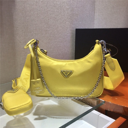 Prada AAA Quality Messeger Bags For Women #834093 $74.00, Wholesale Replica Prada AAA Quality Messeger Bags
