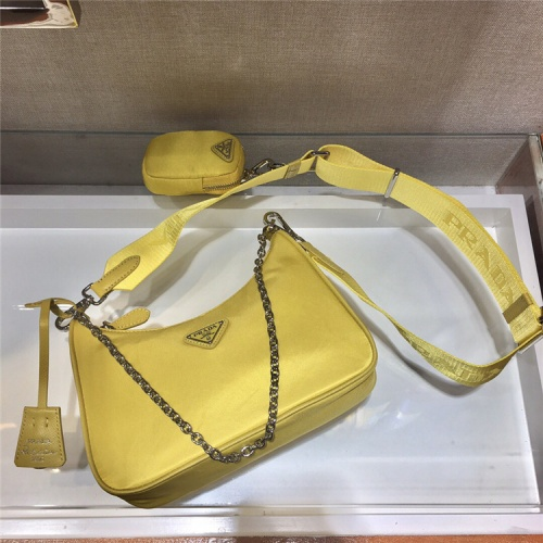 Replica Prada AAA Quality Messeger Bags For Women #834093 $74.00 USD for Wholesale