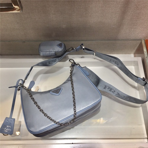 Prada AAA Quality Messeger Bags For Women #834096