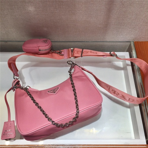 Prada AAA Quality Messeger Bags For Women #834097 $74.00, Wholesale Replica Prada AAA Quality Messeger Bags
