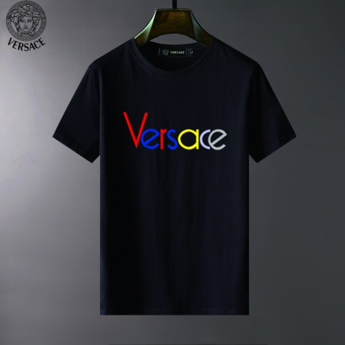Versace T-Shirts Short Sleeved For Men #834101 $23.00 USD, Wholesale Replica Versace T-Shirts