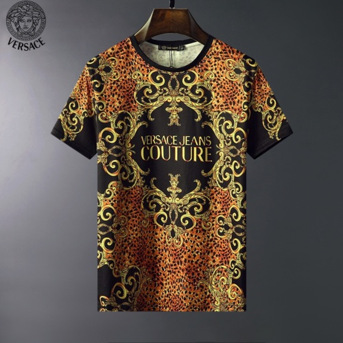 Versace T-Shirts Short Sleeved For Men #834105