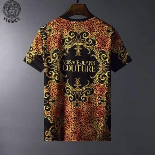 Replica Versace T-Shirts Short Sleeved For Men #834105 $23.00 USD for Wholesale