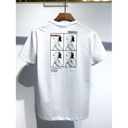 Dsquared T-Shirts Short Sleeved For Men #834112