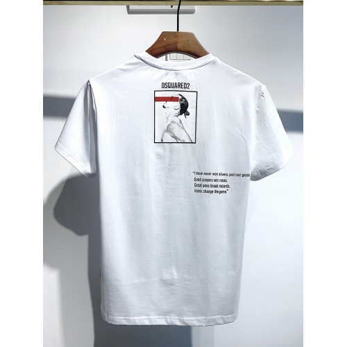 Dsquared T-Shirts Short Sleeved For Men #834118