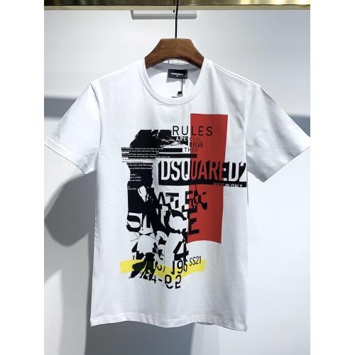 Dsquared T-Shirts Short Sleeved For Men #834125