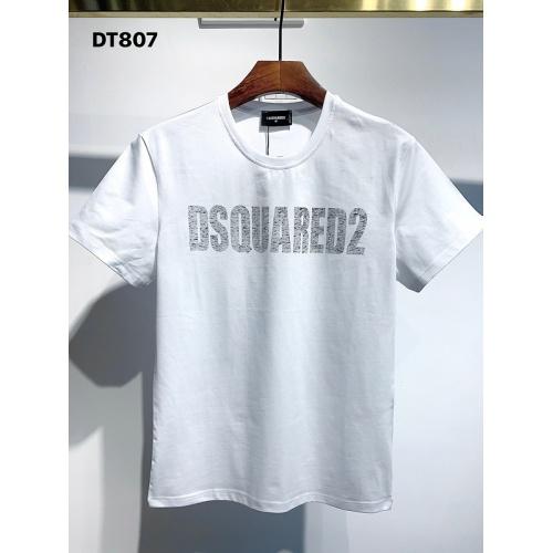 Dsquared T-Shirts Short Sleeved For Men #834127