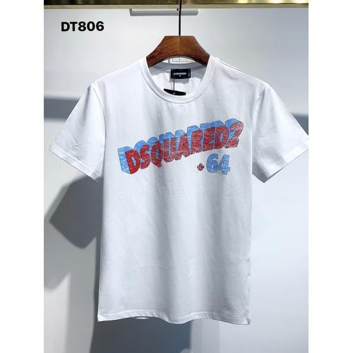 Dsquared T-Shirts Short Sleeved For Men #834129