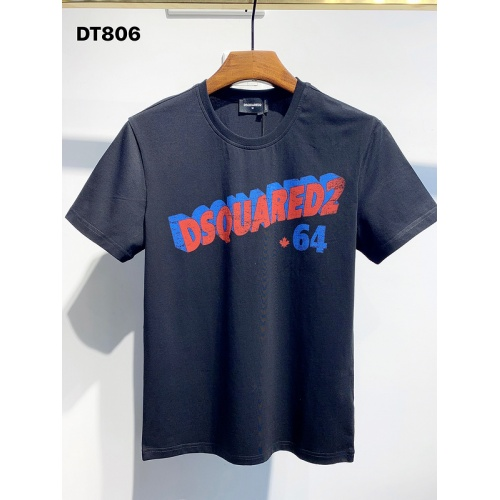 Dsquared T-Shirts Short Sleeved For Men #834130 $26.00 USD, Wholesale Replica Dsquared T-Shirts
