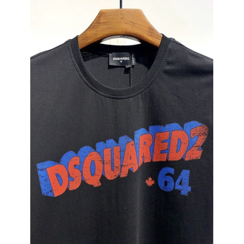 Replica Dsquared T-Shirts Short Sleeved For Men #834130 $26.00 USD for Wholesale