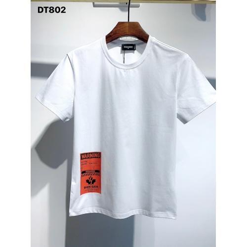Dsquared T-Shirts Short Sleeved For Men #834137