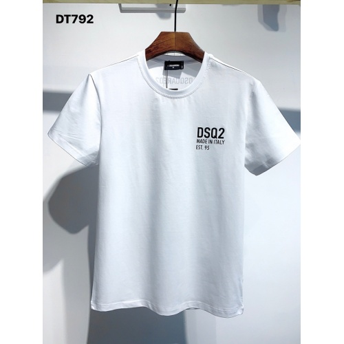 Dsquared T-Shirts Short Sleeved For Men #834141 $26.00 USD, Wholesale Replica Dsquared T-Shirts