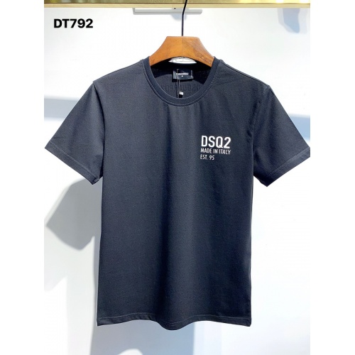 Dsquared T-Shirts Short Sleeved For Men #834142