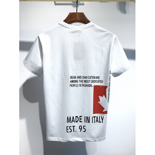 Replica Dsquared T-Shirts Short Sleeved For Men #834147 $26.00 USD for Wholesale