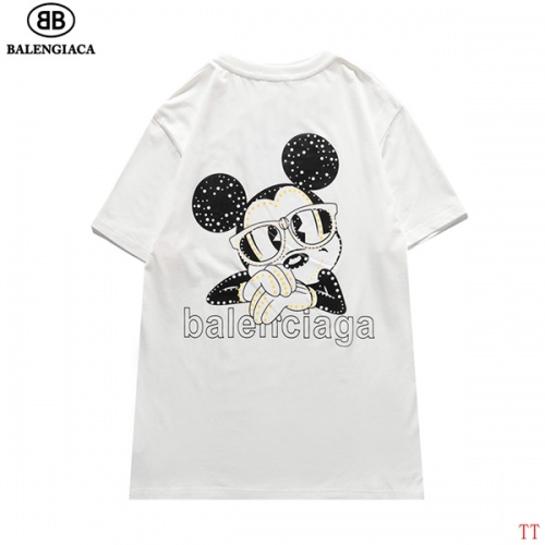 Balenciaga T-Shirts Short Sleeved For Men #834163 $27.00, Wholesale Replica Balenciaga T-Shirts