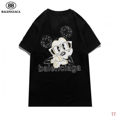 Balenciaga T-Shirts Short Sleeved For Men #834164 $27.00, Wholesale Replica Balenciaga T-Shirts