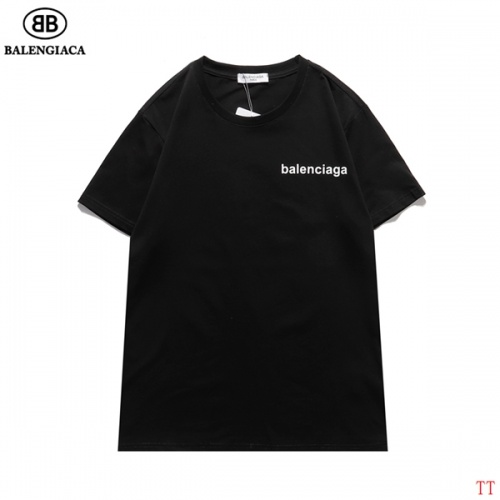 Replica Balenciaga T-Shirts Short Sleeved For Men #834164 $27.00 USD for Wholesale
