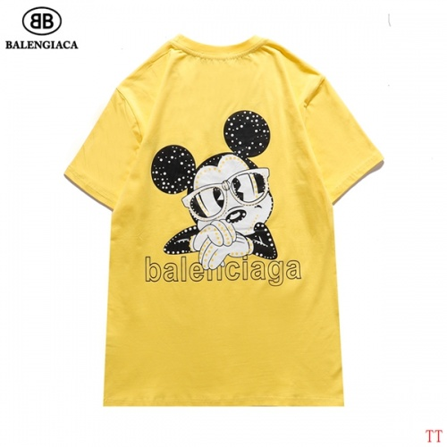 Balenciaga T-Shirts Short Sleeved For Men #834165 $27.00, Wholesale Replica Balenciaga T-Shirts