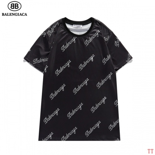 Balenciaga T-Shirts Short Sleeved For Men #834166 $27.00, Wholesale Replica Balenciaga T-Shirts