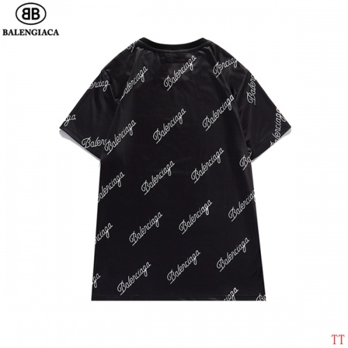 Replica Balenciaga T-Shirts Short Sleeved For Men #834166 $27.00 USD for Wholesale