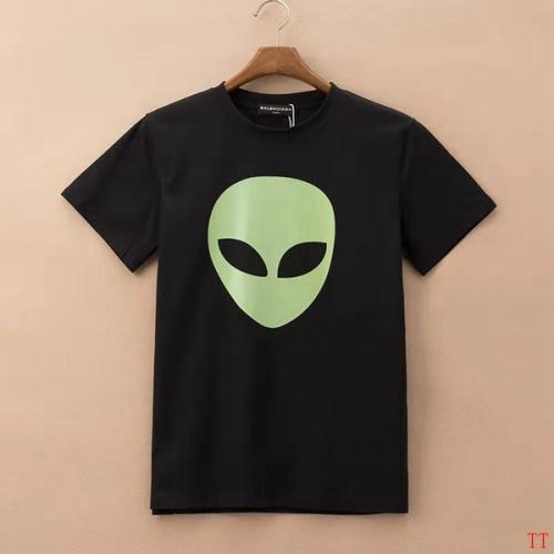 Balenciaga T-Shirts Short Sleeved For Men #834168 $27.00, Wholesale Replica Balenciaga T-Shirts