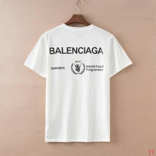 Balenciaga T-Shirts Short Sleeved For Men #834172 $27.00, Wholesale Replica Balenciaga T-Shirts