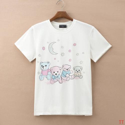 Balenciaga T-Shirts Short Sleeved For Men #834173 $27.00, Wholesale Replica Balenciaga T-Shirts