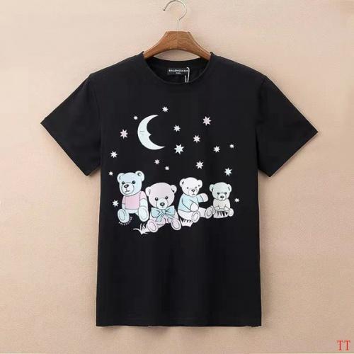Balenciaga T-Shirts Short Sleeved For Men #834174 $27.00, Wholesale Replica Balenciaga T-Shirts