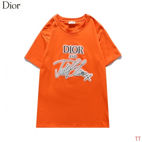 Christian Dior T-Shirts Short Sleeved For Men #834194