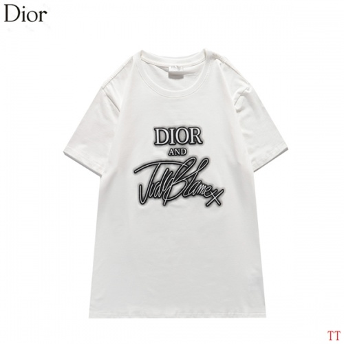 Christian Dior T-Shirts Short Sleeved For Men #834195