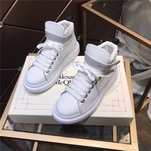 Alexander McQueen High Tops Shoes For Men #834256