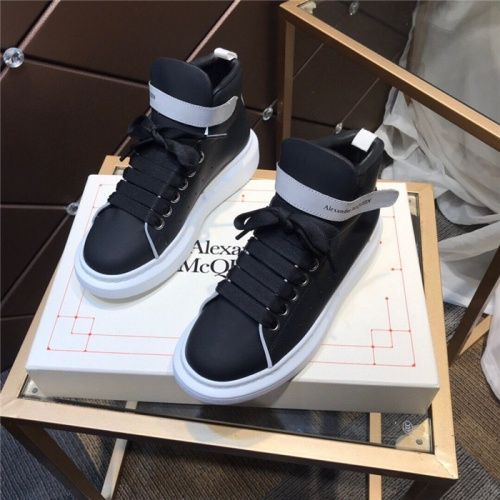 Alexander McQueen High Tops Shoes For Men #834257