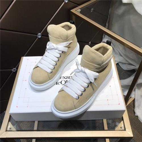 Alexander McQueen High Tops Shoes For Women #834268