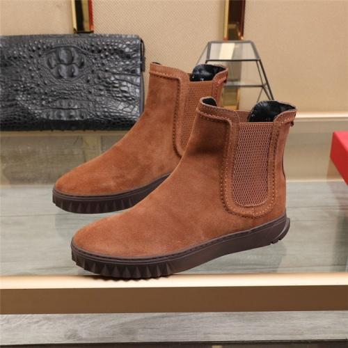Ferragamo Salvatore Boots For Men #834288