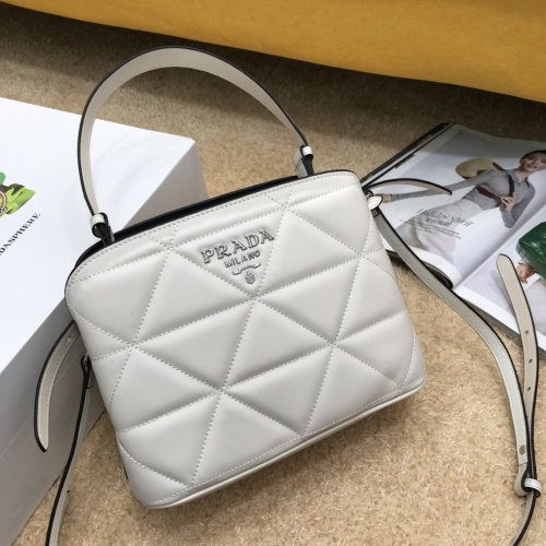 Prada AAA Quality Messeger Bags For Women #834316 $100.00, Wholesale Replica Prada AAA Quality Messeger Bags