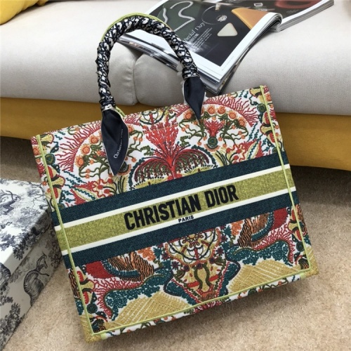 Christian Dior AAA Quality Tote-Handbags For Women #834338 $76.00, Wholesale Replica Christian Dior AAA Handbags