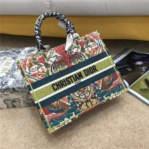 Christian Dior AAA Quality Tote-Handbags For Women #834340 $72.00, Wholesale Replica Christian Dior AAA Handbags