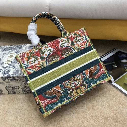 Replica Christian Dior AAA Quality Tote-Handbags For Women #834340 $72.00 USD for Wholesale