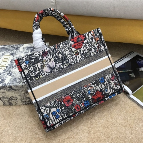 Replica Christian Dior AAA Quality Tote-Handbags For Women #834342 $72.00 USD for Wholesale